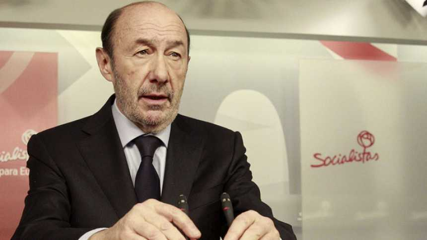 Rubalcaba destaca la dificultad de la tarea de Suárez