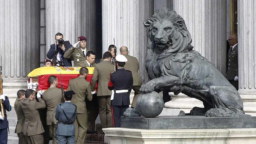 España despide al expresidente Adolfo Suárez