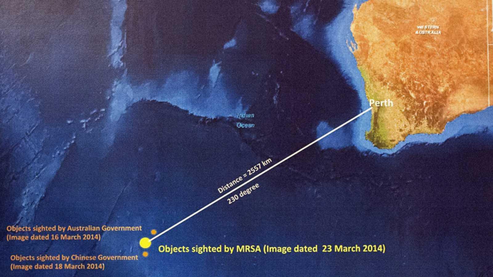 Se reanuda la búsqueda del avión de Malaysia Airlines desaparecido ...