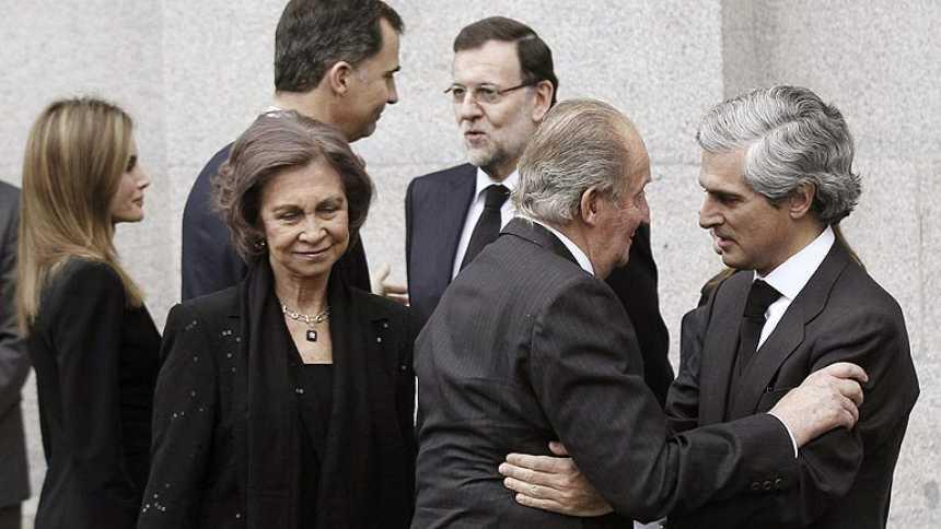 """Último adiós a Suárez en el funeral de Estado donde se apela a la """"concordia"""" en su recuerdo"""