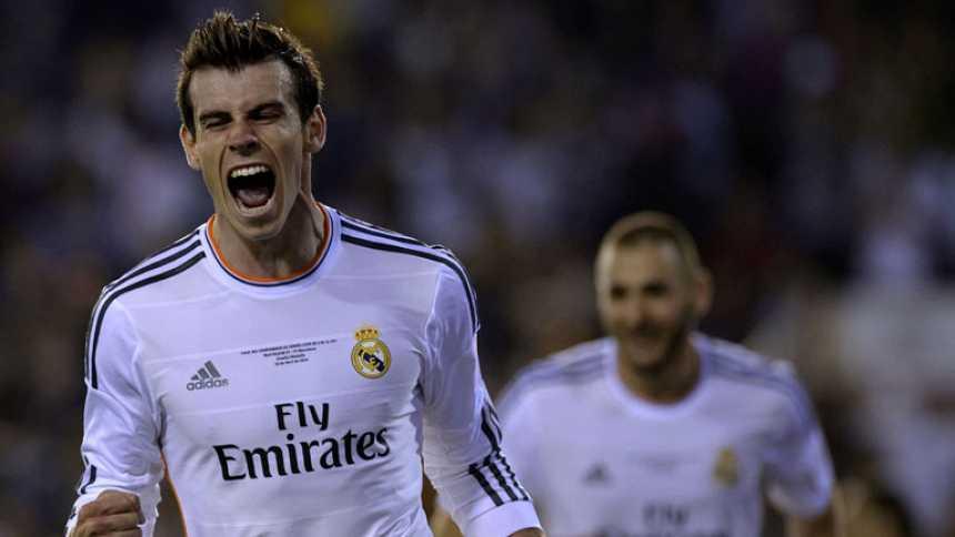 Bale marca el gol que da la victoria al Madrid