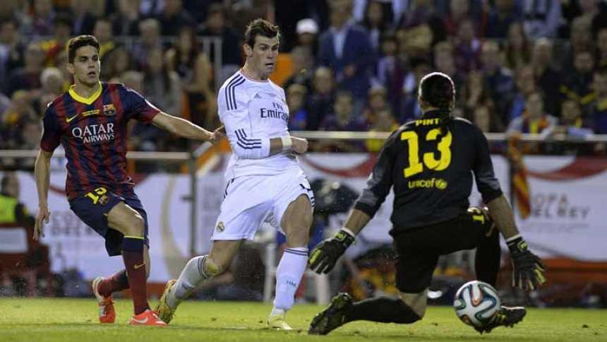 El Madrid levanta la Copa en Mestalla (1-2) y el Barça se lleva otro duro golpe