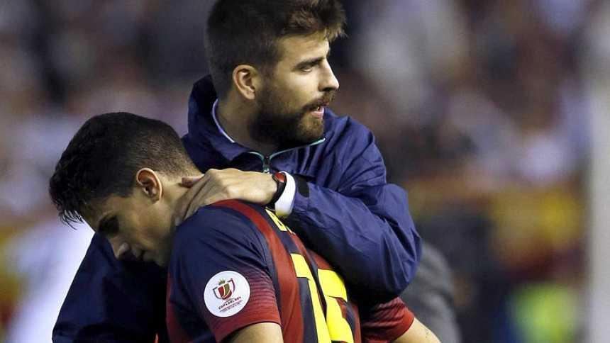Bartra felicita al Real Madrid y anima al Barça a seguir adelante
