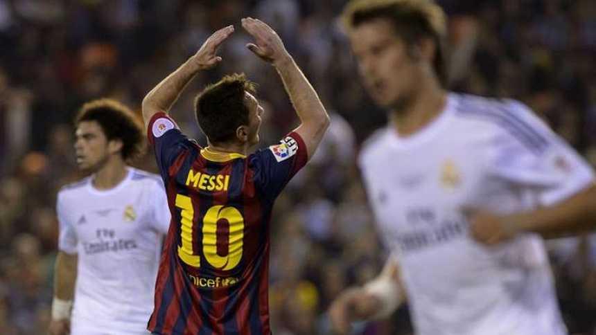 Messi pasó sin pena ni gloria por la final de Mestalla