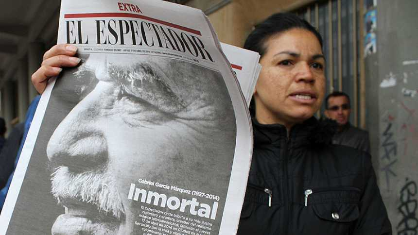 García Márquez dejó huella en el periodismo latinoamericano