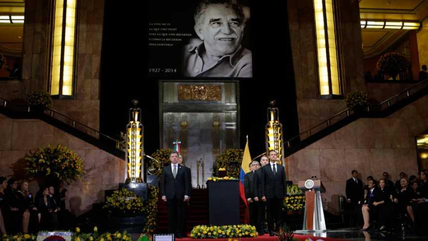 Miles de personas despiden a García Márquez, la voz mágica de la realidad latinoamericana