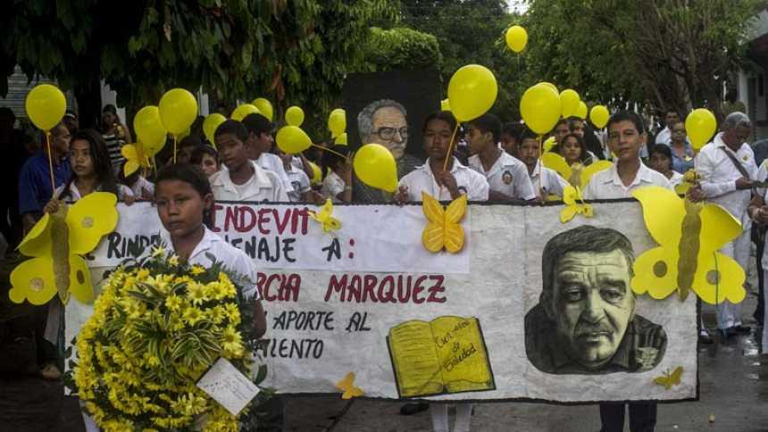 Aracataca despide a su hijo más ilustre, Gabriel García Márquez