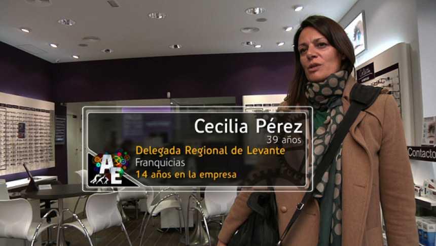 Cecilia Pérez (39 años) Delegada Regional en Levante