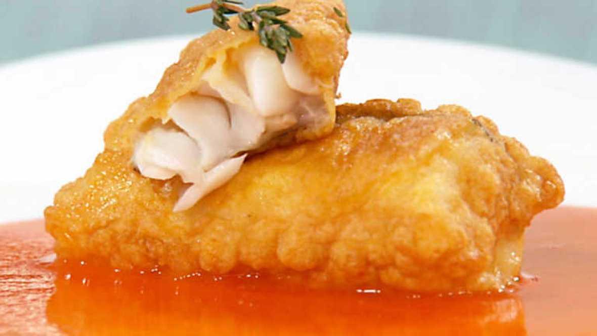 Cocina con sergio bacalao rebozado al piment n - Cocina con sergio pepa ...