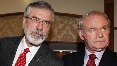 Gerry Adams, presidente del Sinn Féin, liberado sin cargos