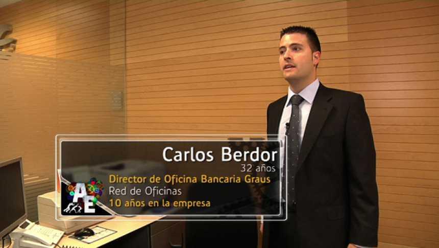 Carlos Berdor (32 años) Director de Oficina Local
