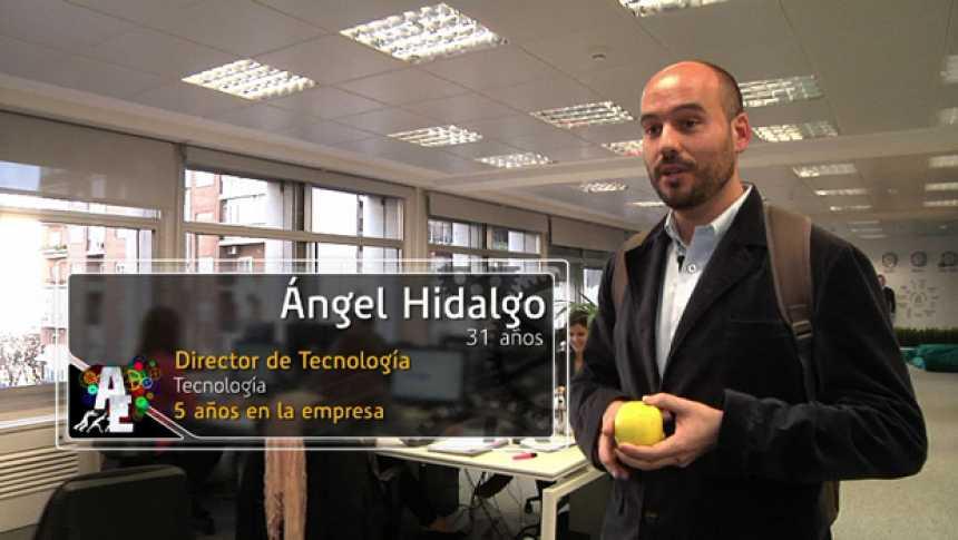 Ángel Hidalgo (31 años) Director de Tecnología
