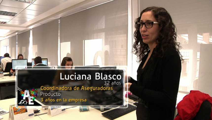Luciana Blasco (32 años) Coordinadora de Aseguradoras