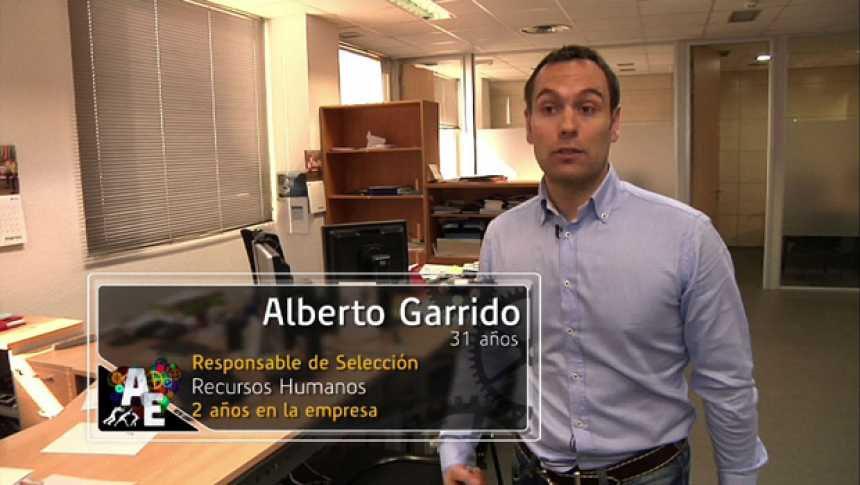 Alberto Garrido (31 años) Responsable de Selección de Personal