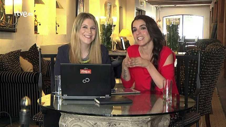 Eurovisión 2014 - Videochat con Ruth Lorenzo desde Copenhague