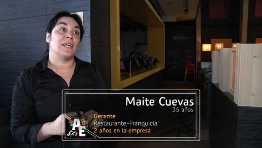 Maite Cuevas (35 años) Gerente de Franquicia