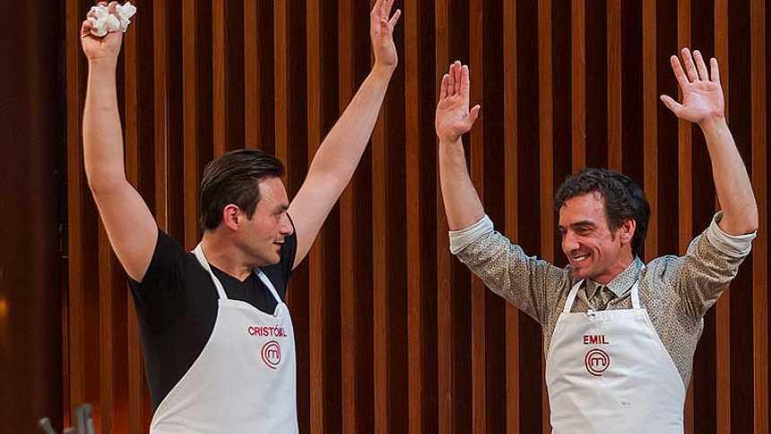 MasterChef - Emil y Cristóbal se salvan en la primera prueba