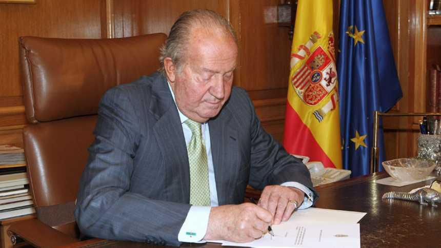Casi 39 años de reinado de Juan Carlos I