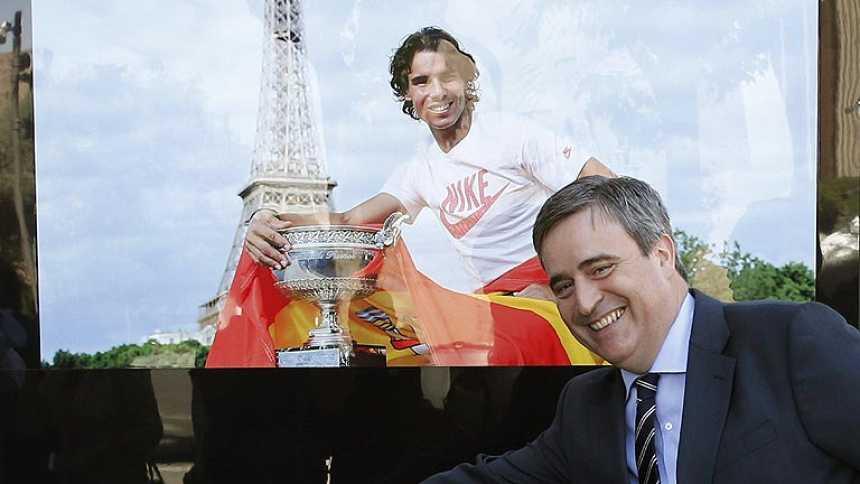 Los 'héroes del deporte español' elogian a Rafa Nadal
