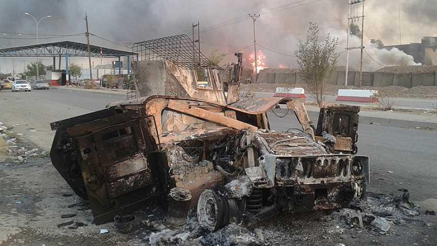 Los yihadistas toman la segunda ciudad iraquí y avanzan por el norte de Irak