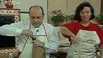 Con las manos en la masa - Huevos a la flamenca con Juanito Navarro