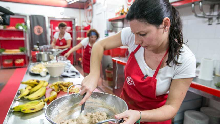 """MasterChef - Pepe a Vicky: """"Da gusto verte cocinar"""""""