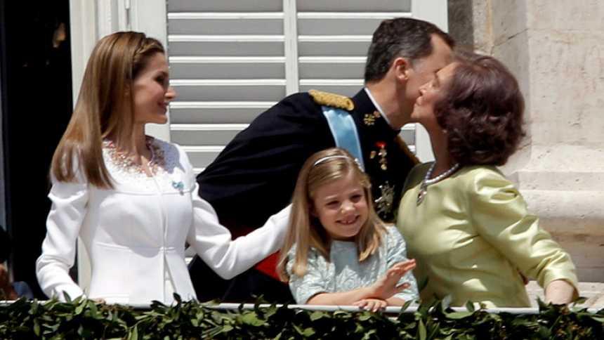 Primeros pasos de Letizia como reina