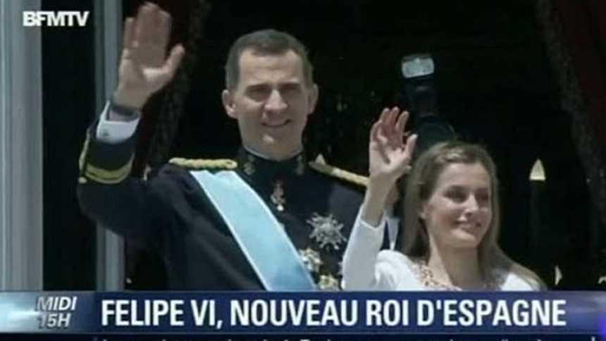 Las principales cadenas del mundo han dedicado programas especiales a la proclamación de Felipe VI