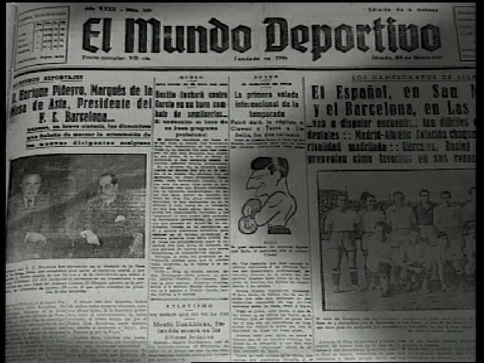 2212602c62694 Arxiu TVE Catalunya - Història del Futbol Club Barcelona - Barça i  Franquisme - Capítol 5 reproducir video