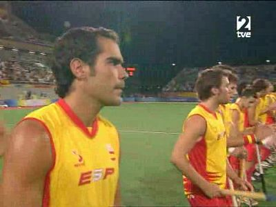 Hockey masculino.Final España- Alemania