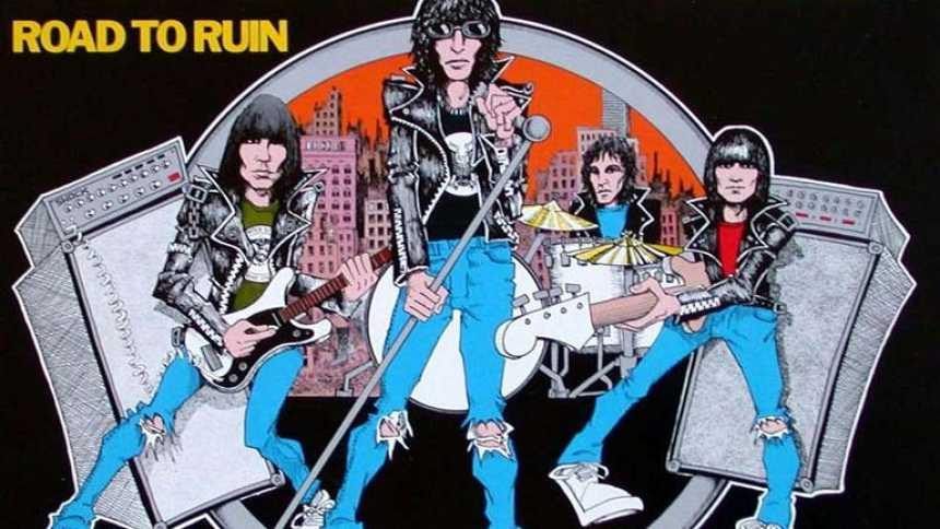 Los Ramones y el cómic (Popgrama)