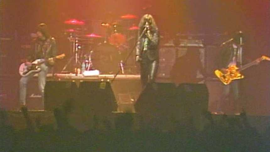 Extracto del concierto de los Ramones en Madrid en 1989