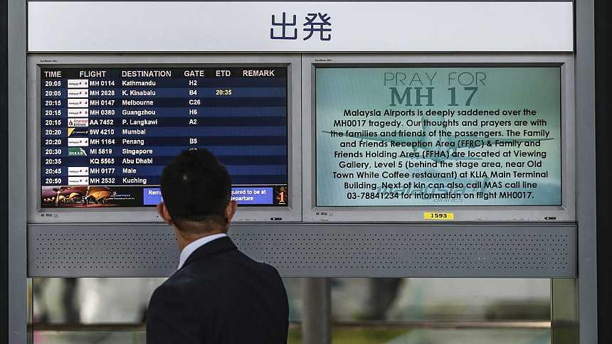 Al menos 154 holandeses entre las 298 víctimas del avión malasio derribado