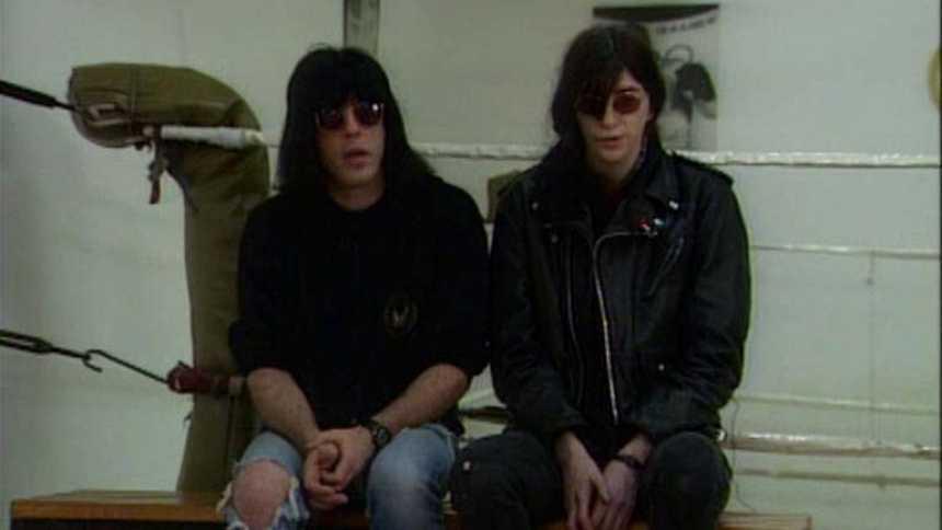Entrevista con los Ramones en 1990 en 'Plastic'