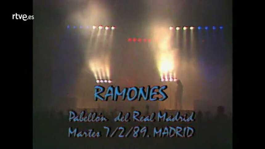 Concierto de Ramones en Madrid 1989 (Rockopop)