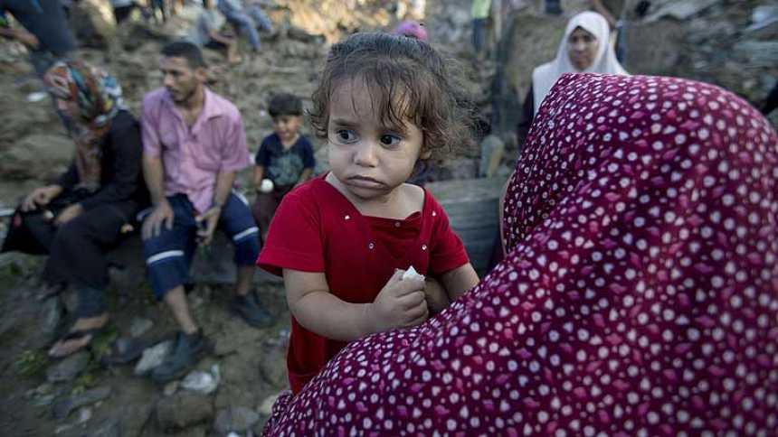 Sobrevivir en Beit Hanun, a dos kilómetros del frente de guerra en Gaza