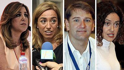 Sánchez integra a dos partidarios de Madina en la nueva Ejecutiva del PSOE