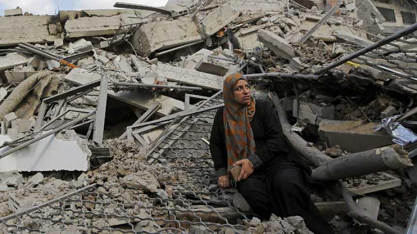 Un paréntesis insuficiente en Gaza para aprovisionarse de víveres y rescatar cadáveres