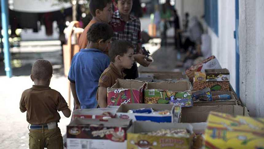 La fiesta del fin de Ramadán silencia unas horas el ruido de la muerte en Gaza