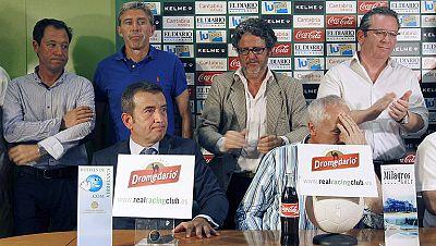 La LFP ha cifrado en 482 millones las deudas de los clubes profesionales españoles. Uno de los que peor están es el Racing de Santander, al que se le ha negado el aplazamiento de deuda y necesita seis millones de euros para no desaparecer.