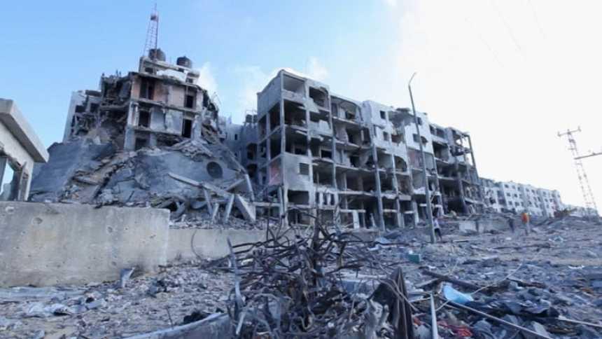 Palestinos con pasaporte extranjero aprovechan la tregua para huir de Gaza