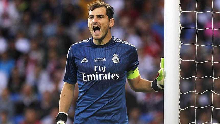 Casillas supera la primera prueba de fuego