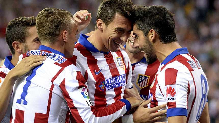 El Atlético, supercampeón de España