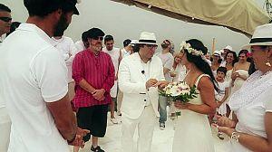 Una boda en el barco