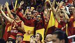 La selección española de baloncesto juega en casa, y se nota