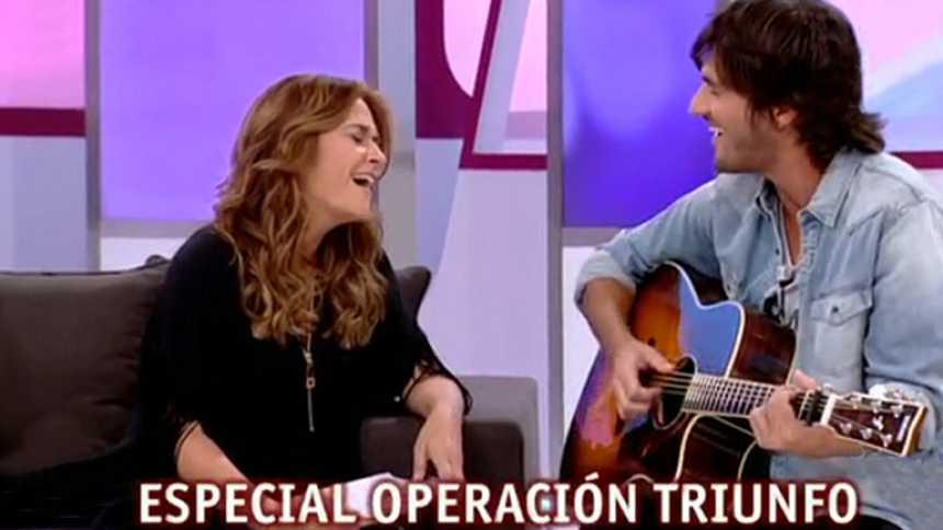 T con T - Toñi canta con Hugo Salazar en el especial de Operación Triunfo