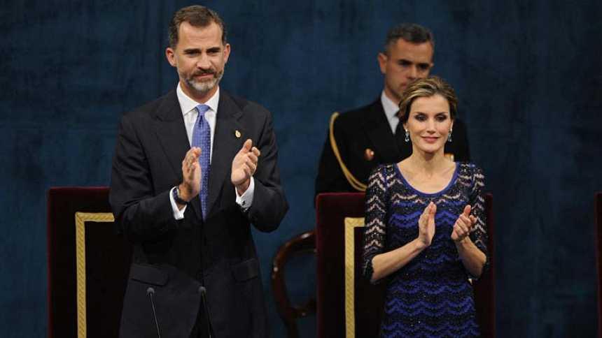 """Felipe VI apela a una España """"alejada de la discordia"""" y dice que los españoles ya no son rivales """"los unos de los otros"""""""