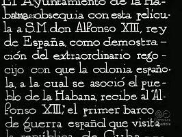 EL ACORAZADO ALFONSO XIII EN LA HABANA