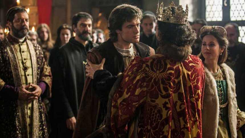 Isabel - Felipe y Juana llegan a Castilla