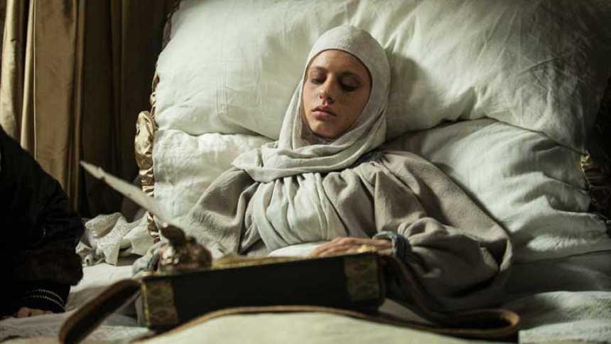 Isabel - Isabel firma el Testamento